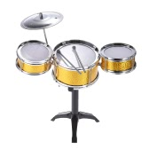 Children Kids Desktop Drum Set 3 Drums Musical Instrument Toy with Small Cymbal Drum Sticks
