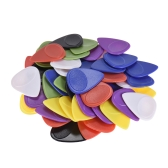50pcs Guitar Picks Celluloid Picks Color Mixed with Storage Box for Acoustic Folk Classic Electric Guitars Bass 1.2mm / 1.5mm / 1.8mm / 2.0mm / 2.3mm Each Thickness 10pcs
