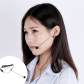 Uni-Directional Mini Ear-hook Headset Microphone Mic for Voice Amplifier Amp Loudspeaker