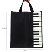 Piano Keys Music Handbag Tote Shopping Bag Gift