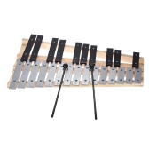 25 Note Glockenspiel Xylophone Educational Musical Instrument Percussion Gift with Carrying Bag