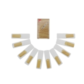 10 Pieces Bamboo Reed for bB Soprano Saxophone Sax Accessories