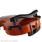 Adjustable Universal Type Violin Shoulder Rest Plastic EVA Padded for 3/4 & 4/4 Fiddle Violin