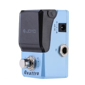 JOYO JF-318 Quatrro Digital Delay Mini Electric Guitar Effect Pedal with Knob Guard True Bypass