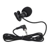 Mini Portable Clip-on Lapel Lavalier Hands-free 3.5mm Jack Condenser Microphone Mic for Computer PC Laptop Loundspeaker
