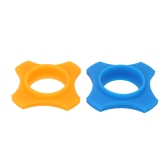2pcs Silicone-rubber Wireless Handheld Microphone Anti-rolling Protection Ring for Karaoke DJ
