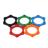 5pcs Rubber Wireless Handheld Microphone Anti-rolling Protection Ring