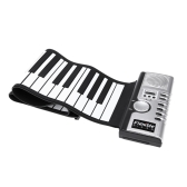 Flexible Roll Up Electronic Soft Keyboard Piano Portable 61 Keys