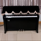 88-key Electronic Piano Keyboard Cover PleucheFastener Tape Decorated with Fringes Beautiful