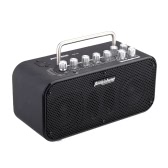 Aroma TM-10 10W Electric Guitar Amp Amplifier Loudspeaker Speaker Built-in Tuner Tap Function Effect Volume Tone Control