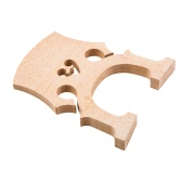1/8 Size Cello Bridge Maple Exquisite Workmanship
