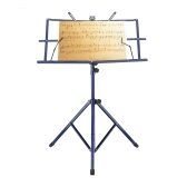 Lightweight Sheet Music Metal Stand Holder Folding Foldable with Waterproof Carry Bag