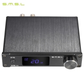 S.M.S.L Q5 pro Mini Portable HiFi Digital 3.5mm AUX Analog/ USB/ Coaxial/ Optical Stereo Audio Power Amplifier Amp with Remote Controller