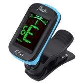 Rowin LT-22 Acoustic Guitar Tuner Clip-On Automatic Digital Electronic LCD for Electric Bass Chromatic Violin Ukulele