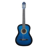 "39"" 6-String Solid Wood Basswood Classical Guitar 19 Frets Nylon Copper Alloy String for Music Lover Student Beginner"