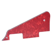 3Ply Pickguard Scratch Plate for Gibson LP Electric Guitar Replacement Part Pearl Red
