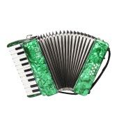 22-Key 8 Bass Piano Accordion with Straps Gloves Cleaning Cloth Educational Music Instrument for Students Beginners Childern