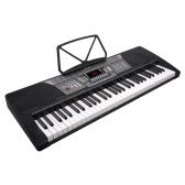 Meike MK-829 Multifunction Teaching-Type 61 Keys Electronic Electric Keyboard Piano Organ Udisk Music Play Function with Music Sheet Holder