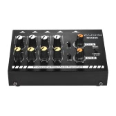 Compact Size 8-Channels Mono/Stereo Audio Sound Line Mixer with Power Adapter