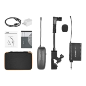 Baomic BM-12/V2 Professional UHF Wireless Instrument Microphone System