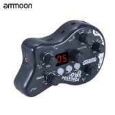 ammoon PockRock Portable Guitar Multi-effects Processor Effect Pedal 15 Effect Types 40 Drum Rhythms Tuning Function   with Power Adapter