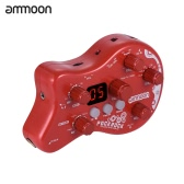 ammoon PockRock Portable Guitar Effect Pedal-Red