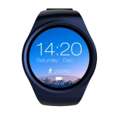 "LEMFO BT4.0 Smart Watch Phone 2G GSM Mini SIM Card 1.39"" Screen ROM 128MB + RAM 64MB Pedometer Heart Rate Monitor Smartwatch for Android 4.4 & IOS 7.0"