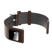 H1 Luxury Genuine Leather 20mm Watch Band