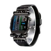 TVG Fashion Novelty Unique LED Digital Binary Watch High Quality