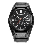 SKONE 2017 New Cool Fashion Military Style Quartz Men Watch Big Strap Multi-function Water-proof Man Casual Wristwatch Masculino Relogio Best Gift