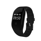 "0.66"" OLED Water-Proof BT4.0 Smart Wrist Band Touch Screen Smart Bracelet Fitness Tracker Heart Rate Pedometer Sleep Monitor for IOS 7.1 & Android 4.4 or Above"