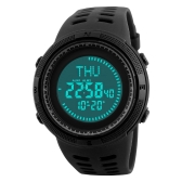 SKMEI Sport Watch 5ATM Water-resistant Digital Watch Backlight Men Wristwatch Male Stopwatch