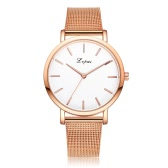 Lvpai High Quality Trendy Style Brand Women Female Watch Wristwatch Girl Dress Fashion Classic Gift Quartz Mesh Band