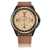 NAVIFORCE Sport Quartz Watch 3ATM Water-resistant Men Watches Luminous Military Wristwatch Male Calendar