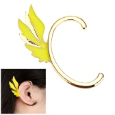 Fashion Alloy Plated Punk Fairy Wing Ear Cuff Clip Hook Stud Earrings Jewelry Accessory