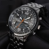 SKMEI High Quality Analog-Digital Double Time Display Watch Waterproof Fashion Quartz Sports Wristwatch