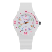 SKMEI Fashion Water-resistant Quartz Children Watch Analog Jelly Student Boy Girl Wristwatch