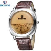 Skone Three Dial Water-proof Wristwatch