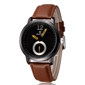 Skone Ultra Thin Fashion Casual Luxury Cool Watch Stainless Steel Water-proof Quartz Analog Men Wristwatch