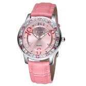 Vintage High Quality Fashion Quartz Wristwatch Bling-bling Rhinestone Embedded Women Elegant Watch
