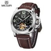 MEGIR Luminous Self-winding Mechanical Watch 3 ATM Water Resistant