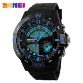 SKMEI 2016 New Brand Men Watch Casual Digital Watches Dual Time Display Waterproof Calendar Outdoor Sports Wristwatches