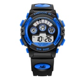 HOSKA 2017 LED Digital 50M Waterproof Student Sports Watch Electronic Boy Girl Children Wristwatch Alarm Backlight Stopwatch 7 Colors + Box