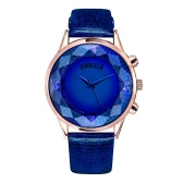 BAOGELA 2017 Luxury Genuine Leather Quartz Women Watch 30M Water-Resistant Fashion Ladies Casual Wristwatch Big Rhombic Face Dress Watch