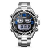 SINOBI Sport Quartz Watch 3ATM Water-resistant Men Watches Luminous Wristwatch Male Chronograph