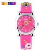SKMEI Children Cool Original Fashion Watch Jelly Color Cute Colorful Quartz Wristwatch For Sports Boys and Girls Students