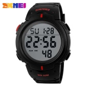 SKMEI Men Multifunctions Fashion Sports Watch Hot Sell 5ATM Waterproof Outdoors Activities Military Digital Wristwatch