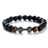 New Fashion Unique Men Women Natural Stone Beads Bracelet Bangle Charm Jewelry for Party Gift Unisex