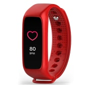 BOZLUN Colorful Touch Screen BT4.0 Smart Wrist Band Watch IP67 Water-Proof Sports Fitness Tracker Smart Bracelet Heart Rate/Blood Pressure/Pedometer/Sleep Monitor for IOS & Android + Box