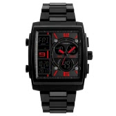 SKMEI 5ATM Water-resistant Watch Fashion Casual Digital Watch Men Wristwatches Male Backlight Chronograph Alarm